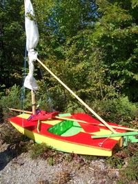 Flying Mouse sailboat